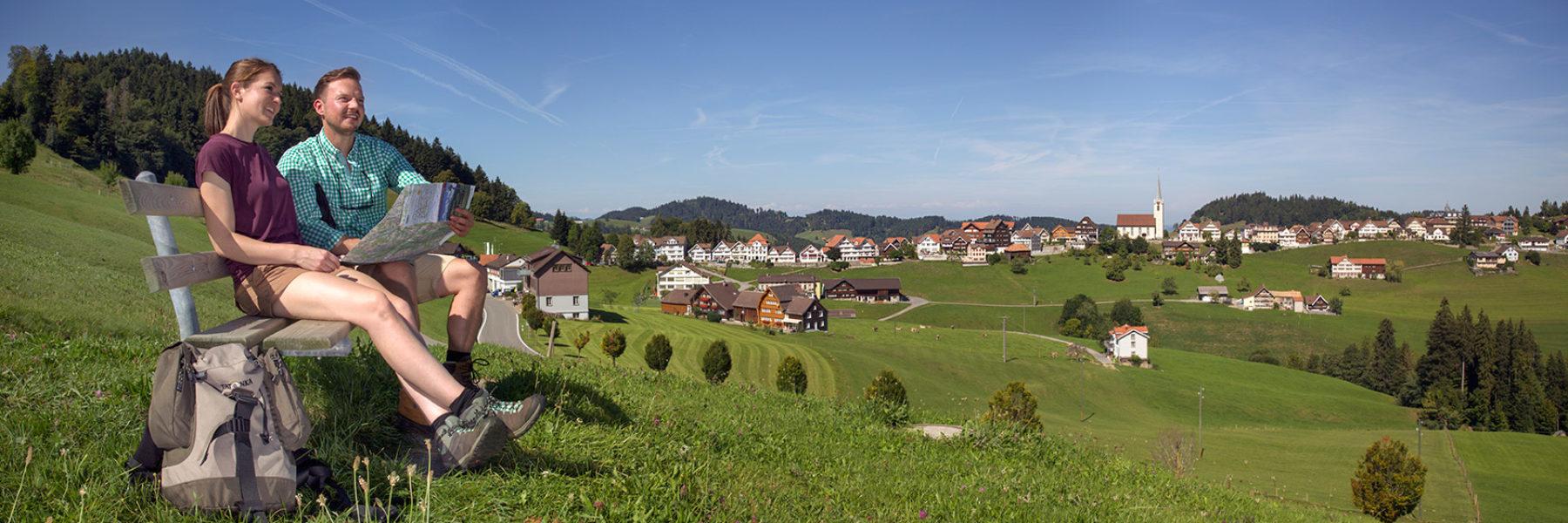 Zum höchstgelegenen Dorf im Appenzellerland